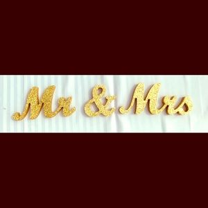 Party Supplies - Wedding Signs🎀